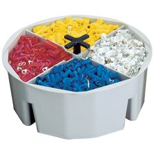 "RoundUps® 10.5"" Wide Bucket Part Tray"