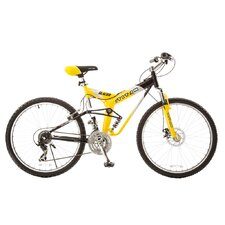 Men's Glacier Pro Alloy Dual Suspension All Terrain Mountain Bike