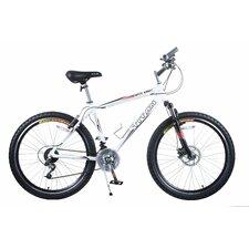 Men's White Knight Alloy Frame All-Terrain Mountain Bike