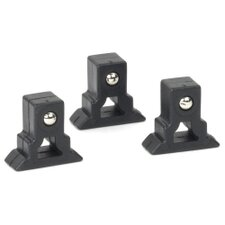 "3 Piece Socket Rail Clips 1.6"" Wide Parts Accessories"