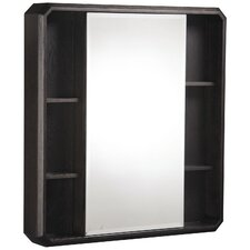"Cirtangular 30"" x 32"" Surface Mount Beveled Edge Medicine Cabinet"