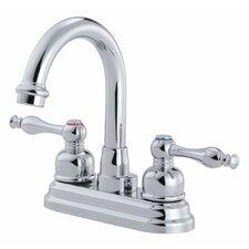 Sheridan Double Handle Centerset Bathroom Faucet