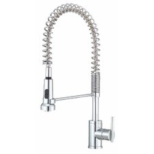 Parma Single Handle Deck Mount Kitchen Faucet