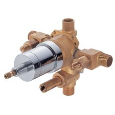 Accessories Pressure Balance Mixing Valve with Diverter and Stops