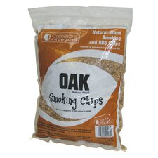 The Smoke Master Outdoor Oak Smoker Smoking Chips (2 lbs) (Set of 3)
