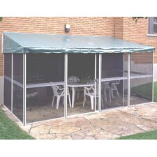 Add-A-Room 15 Ft. W x 7.5 Ft. D Aluminum Gazebo
