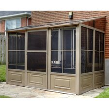 Four Season Add-A-Room 12 Ft. W x 10 Ft. D Aluminum Gazebo