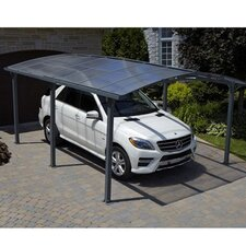 Acay 12 Ft. W x 16.5 Ft. D Car Port