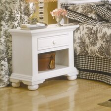 Cottage Traditions 1 Drawer Nightstand
