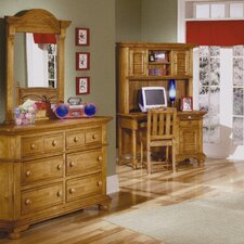 Cottage Traditions Double 6 Drawer Dresser