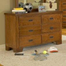 Heartland Double Dresser and Mirror Set