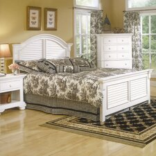 Cottage Traditions Panel Bed