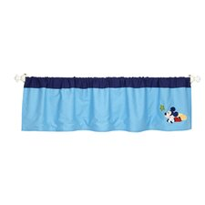 My Friend Mickey Appliqued Curtain Valance