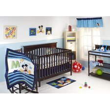 My Friend Mickey 4 Piece Crib Bedding Set