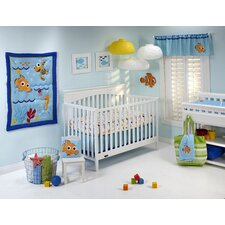 Nemo's Wavy Days 4 Piece Crib Bedding Set
