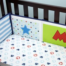 Mickey Mouse Padded Crib Bumper