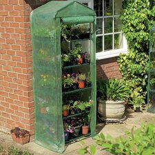 Grow 2.5 Ft. W x 1.5 Ft. D PVC Growing Rack Greenhouse