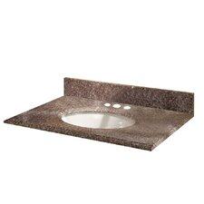"Montero 31"" Granite Vanity Top with Sink"