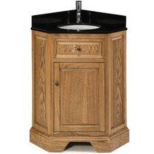 """Chesapeake 26"""" Single Corner Bathroom Vanity Set"""