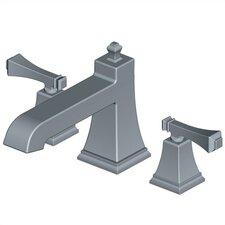 Exhibit Double Handle Deck Mount Roman Tub Faucet Trim