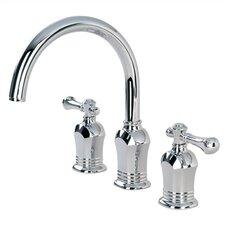 Verdanza Double Handle Deck Mount Roman Tub Faucet Trim