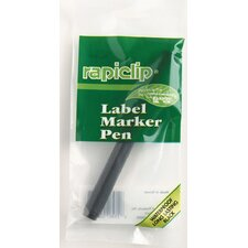 Rapiclip Label Marker Pen (Set of 12)
