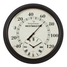 "16.34"" Lincoln Wall Clock"