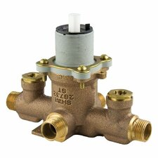 Rough Valves Tub/Shower Rough Valve with Integral Stops