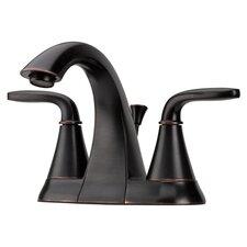 Pasadena Double Handle Centerset Standard Bathroom Faucet
