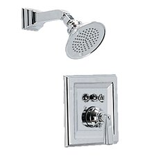 Town Square Volume Shower Faucet Trim Kit with Lever Handle and EverClean