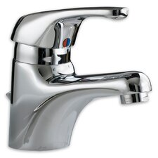 Ceramix Single Hole Bathroom Faucet with Single Handle
