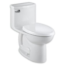 Cadet Compact 3 Flowise 1.28 GPF Elongated 1 Piece Toilet with Seat