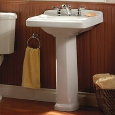 Portsmouth Pedestal Bathroom Sink Set