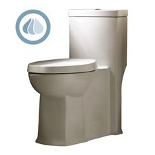 Boulevard Siphonic Dual Flush Right Height 1.1 GPF / 1.6 GPF Elongated 1 Piece Toilet with Seat Product Photo