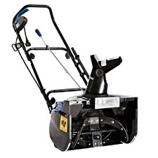 "18"" Electric Snow Thrower with Halogen Light"