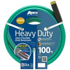 """Heavy Duty 0.63"""" x 100' Garden Hose"""