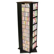 VHZ Entertainment 1160 CD Molded Multimedia Revolving Tower