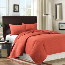 Las Brisas Velvet Touch 3 Piece Coverlet Set