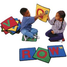 Carpet Kits Alphabet Block Area Rug