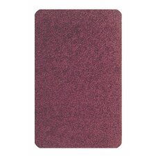 Solid Mt. St. Helens Cranberry Area Rug