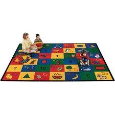 Carpet Kits Shape / Number Block Area Rugs