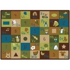 Learning Blocks Nature Kids Rug