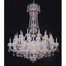 Olde World 45 Light Crystal Chandelier