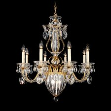 Bagatelle 8 Light Chandelier with Handcut Crystals