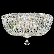 "Petit Crystal Deluxe 8"" Flush Mount"