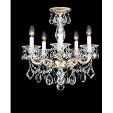 La Scala 5 Light Convertible Chandelier