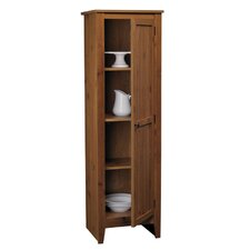 Single Door Pantry in Old Fashion Pine