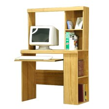 "Charles Harris 36"" W Bookcase Computer Desk"