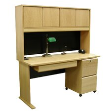 "Modular 36"" H x 60"" W Panel Desk Hutch"