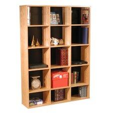 "Modular Real Oak Wood Veneer Furniture 65.5"" Cube Unit"